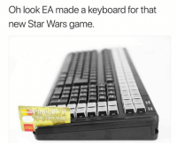 """<p>Ya&rsquo;ll won&rsquo;t let it go will you? via /r/memes <a href=""""http://ift.tt/2mrDDrL"""">http://ift.tt/2mrDDrL</a></p>: Oh look EA made a keyboard for that  new Star Wars game <p>Ya&rsquo;ll won&rsquo;t let it go will you? via /r/memes <a href=""""http://ift.tt/2mrDDrL"""">http://ift.tt/2mrDDrL</a></p>"""