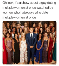 @drgrayfang is by far the best thing to happen to the internet.: Oh look, it's a show about a guy dating  multiple women at once watched by  women who hate guys who date  multiple women at once @drgrayfang is by far the best thing to happen to the internet.