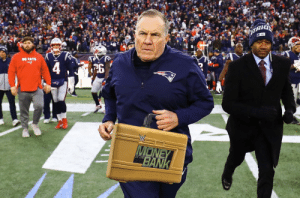 OH MY! Bill Belichick is cashing in his MITB Briefcase! The Super Bowl is now a triple threat! https://t.co/4UZRCwWTjL: OH MY! Bill Belichick is cashing in his MITB Briefcase! The Super Bowl is now a triple threat! https://t.co/4UZRCwWTjL