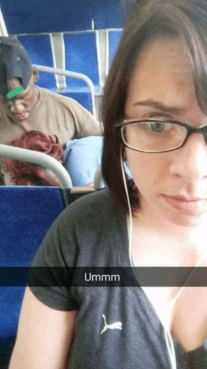 Oh, nothing makes a bus ride more enjoyable for other passengers than having to witness oral sex.: Oh, nothing makes a bus ride more enjoyable for other passengers than having to witness oral sex.
