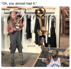 """Warriors be like...  #NBAMemesOfficial https://t.co/eSSpEI0fRo: """"Oh, you almost had it.""""  @NBAMEMES  Sun Lide  APTOP Warriors be like...  #NBAMemesOfficial https://t.co/eSSpEI0fRo"""