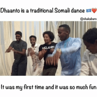 Africa, Memes, and Time: Ohaanto is a traditional Somali dance a  @chaka bars  MSLANN  It was my first time and it was so much fun Ahh my time in Somalia has been amazing, so sad to leave. Blessings to all of the people who trust me to do the right thing. Hopefully I am representing the Somali people properly. I think that giving is important, building is also important and being with the people is the most important. I think I should travel Africa learning the cultures and showing you guys what I am learning. What do you think? lovearmy