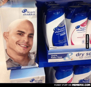 Someone didn't think this throughomg-humor.tumblr.com: Ohead&  shoulders.  DERM  DERN  Oheads  shoulders  heads  shoulders  MEN  2-1  FULL & THICK  2-1  smooth & silky  97076568  100%  flake free  dry sc  for com  Softa Ve t'sc  NANDO  Ohead&  ulders  DERN  heads  FUNNY STUFF ON MEMEPIX.COM  MEMEPIX.COM Someone didn't think this throughomg-humor.tumblr.com
