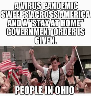 Ohio was given a stay at home order. It's not a day off work.: Ohio was given a stay at home order. It's not a day off work.