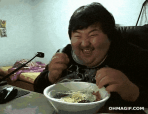 When I find the perfect thing to watch on Netflix and my food isn't coldomg-humor.tumblr.com: OHMAGIF.COM When I find the perfect thing to watch on Netflix and my food isn't coldomg-humor.tumblr.com