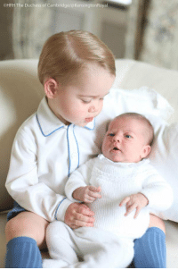 Memes, Charlotte, and Prince George: OHRH The Duchess of Cambridge/@KensingtonRoyal First official photo of Prince George with his little sister Princess Charlotte (Via @KensingtonRoyal)