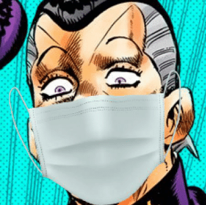 Oi Josuke, be sure to wear a face mask and wash your hands.: Oi Josuke, be sure to wear a face mask and wash your hands.