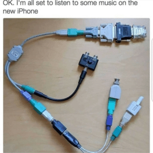 This is true by Johnk231 MORE MEMES: OK. I'm all set to listen to some music on the  new iPhone This is true by Johnk231 MORE MEMES