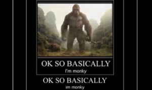 Ok so basically he monke: OK SO BASICALLY  I'm monky  OK SO BASICALLY  im monky Ok so basically he monke