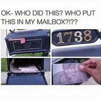 funny funnypictures jokes adultcomedy unrated_comedy: OK- WHO DID THIS? WHO PUT  THIS IN MY MAILBOX?! funny funnypictures jokes adultcomedy unrated_comedy