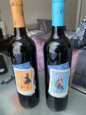 Okay but who else has tried this wine (55 Cartas) inspired by the game La Lotería?? So sweet and sooo yummy😋: Okay but who else has tried this wine (55 Cartas) inspired by the game La Lotería?? So sweet and sooo yummy😋