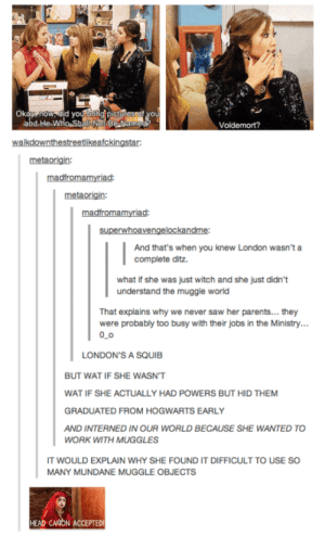 Zack And Cody just got way more complicatedadvice-animal.tumblr.com: Okay, now, did youlbnng picturostof you  abd-He-Who ShallNa BeNamedr  Voldemort?  walkdownthestreetikeafckingstar:  metaorigin:  madfromamyriad:  metaorigin:  madfromamyriad:  superwhoavengelockandme:  And that's when you knew London wasn't a  complete ditz.  what if she was just witch and she just didn't  understand the muggle world  That explains why we never saw her parents... they  were probably too busy with their jobs in the Ministry...  0_0  LONDON'S A SQUIB  BUT WAT IF SHE WASN'T  WAT IF SHE ACTUALLY HAD POWERS BUT HID THEM  GRADUATED FROM HOGWARTS EARLY  AND INTERNED IN OUR WORLD BECAUSE SHE WANTED TO  WORK WITH MUGGLES  IT WOULD EXPLAIN WHY SHE FOUND IT DIFFICULT TO USE SO  MANY MUNDANE MUGGLE OBJECTS  HEAD CANON ACCEPTEDI Zack And Cody just got way more complicatedadvice-animal.tumblr.com