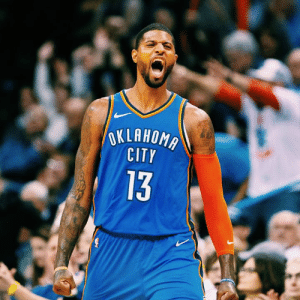 Paul George is making a strong MVP push.  His last 10: 36 PTS, W 37 PTS, W 43 PTS, W 37 PTS, L 39 PTS, W 27 PTS, W 45 PTS, W 47 PTS, W 28 PTS, L 45 PTS, W: OKLAHOMA  CITY  13 Paul George is making a strong MVP push.  His last 10: 36 PTS, W 37 PTS, W 43 PTS, W 37 PTS, L 39 PTS, W 27 PTS, W 45 PTS, W 47 PTS, W 28 PTS, L 45 PTS, W