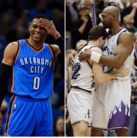 This season Russell Westbrook is averaging more rebounds per game (10.6) than Karl Malone did in his career (10.1), and nearly as many assists per game (10.4) as John Stockton did in his career (10.5): OKLAHOMA  CITY This season Russell Westbrook is averaging more rebounds per game (10.6) than Karl Malone did in his career (10.1), and nearly as many assists per game (10.4) as John Stockton did in his career (10.5)