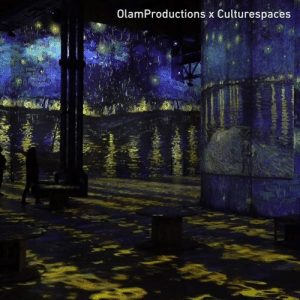 Dank, 🤖, and Van Gogh: OlamProductions x Culturespaces I wish I could Van Gogh there.  By Olam Prod Culturespaces Atelier des lumières