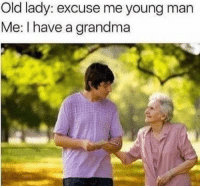 Excuse Me Young Man