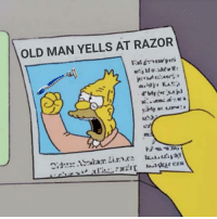 Old Man, Old, and Man: OLD MAN YELLS AT RAZOR  72