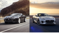 Memes, Jaguar, and 🤖: OLD  NEW Here is the facelifted F-Type! What do you think of the updated looks compared to the old one? Via @carthrottlenews - - jaguar carnews ftype