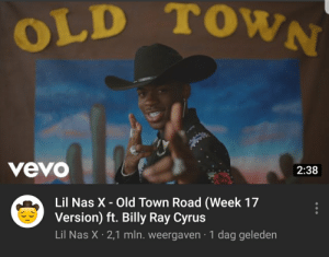 Week 17 version... This madlad is becoming self aware: OLD TOWN  vevo  2:38  Lil Nas X - Old Town Road (Week 17  Version) ft. Billy Ray Cyrus  Lil Nas X 2,1 mln. weergaven 1 dag geleden Week 17 version... This madlad is becoming self aware