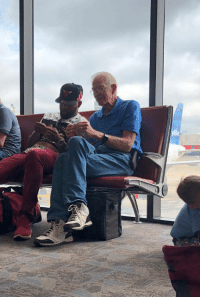 Origami, Teaching, and Via: Older gentleman teaching young man origami with dollar via /r/wholesomememes https://ift.tt/2OXQdcf