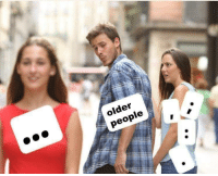 People and Older: older  people
