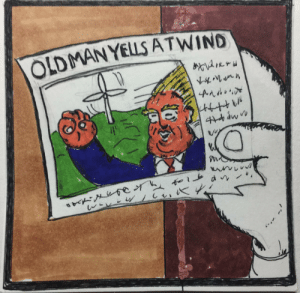 Old Man Yells at Wind [OC]: OLDMAN YELLS ATWIND Old Man Yells at Wind [OC]