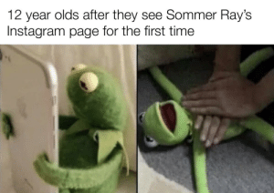 She's insanely hot: olds after they see Sommer Ray's  12  year  Instagram page for the first time She's insanely hot