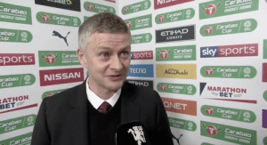 "Ole: ""The fact that Man City are starting 11 players against us at home shows just how far we've come as a club over the past couple years."" https://t.co/VktojnVHRd: Ole: ""The fact that Man City are starting 11 players against us at home shows just how far we've come as a club over the past couple years."" https://t.co/VktojnVHRd"