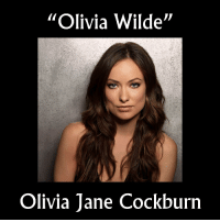 """Funny, Olivia Wilde, and Today: """"Olivia Wilde""""  Olivia Jane Cockburn Celebrities and their birth names. In Olivia Wildes defense anyone with the last name """"Cockburn"""" in today's society doesn't stand a chance 😂😂 (SWIPE RIGHT FOR MORE)"""