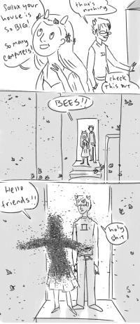 saccharinesylph: poidkea:  I've just spent a lot of time thinking about bloodswap feferi and her boyfriends' bees  HELLO FRIENDS : ollvx yovr  house 5  So BlG  Su muy  th u  norhn  Mec  rhis DuT  BEES  냉 saccharinesylph: poidkea:  I've just spent a lot of time thinking about bloodswap feferi and her boyfriends' bees  HELLO FRIENDS