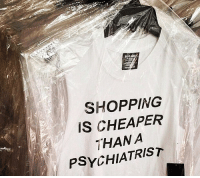 Shopping, Psychiatrist, and Olo: OLO  SHOPPING  IS CHEAPER  THANA  PSYCHIATRIST