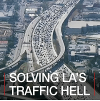 Memes, Public Transportation, and Rush Hour: OLVING GSLA  TRAFFIC HELL 8 MAR: A study of more than 1,000 cities around the world has concluded that Los Angeles has the worst rush-hour traffic. That will come as no surprise to drivers in the city - or to politicians in California who are planning big spending to improve public transport and reduce pollution. As part of the SoICanBreathe season, the BBC went to see how the city is set to change. Find out more: bbc.in-soicanbreathe LosAngeles USA Pollution AirPollution SoICanBreathe BBCShorts BBCNews @BBCNews
