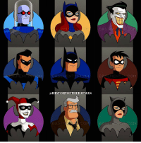"""Good Knight Gothamites! Tomorrow we'll continue """"50 Tales for 50 Years: A Celebration of Barbara Gordon"""" with a look at Batgirl in DC Rebirth and her latest role in The LEGO Batman Movie out this Friday! LINKED IN THE BIO is my podcast interview with the director of The LEGO Batman Movie Chris McKay, so please check it out before seeing the latest Batman cinematic film! I leave you tonight with an account edit using original Batman: The Animated Series art by illustrator Barry Bradfield! To see more of their works, please visit their website at Basement24.deviantart.com! As always, thanks for following and the constant support on Instagram, Twitter (HistoftheBatman), Facebook and YouTube (HistoryoftheBatman), it is greatly appreciated! Have a great night and we will have more History of the Batman tomorrow. Remember Gothamites, it's all about Peace, Love and Batman! ✌🏼💙🦇: OM  BASEMENT 24 COM  BASEME  a HISTORYOFTHE BATMAN  CON  BASEM  BASEME  MEN  COM Good Knight Gothamites! Tomorrow we'll continue """"50 Tales for 50 Years: A Celebration of Barbara Gordon"""" with a look at Batgirl in DC Rebirth and her latest role in The LEGO Batman Movie out this Friday! LINKED IN THE BIO is my podcast interview with the director of The LEGO Batman Movie Chris McKay, so please check it out before seeing the latest Batman cinematic film! I leave you tonight with an account edit using original Batman: The Animated Series art by illustrator Barry Bradfield! To see more of their works, please visit their website at Basement24.deviantart.com! As always, thanks for following and the constant support on Instagram, Twitter (HistoftheBatman), Facebook and YouTube (HistoryoftheBatman), it is greatly appreciated! Have a great night and we will have more History of the Batman tomorrow. Remember Gothamites, it's all about Peace, Love and Batman! ✌🏼💙🦇"""