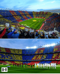 Anaconda, This, and Making: OM  B'R Nearly 100,000 people making up this beauty.  #ElClasico