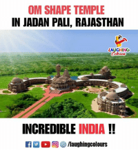 India, Indianpeoplefacebook, and Rajasthan: OM SHAPE TEMPLE  IN JADAN PALI, RAJASTHAN  LAUGHING  INCREDIBLE INDIA!!