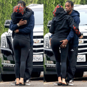 Dank, Kylie Jenner, and Travis Scott: omal  925H1  25H1  TCP 27131-P  TCP 2113 Travis Scott + Kylie Jenner
