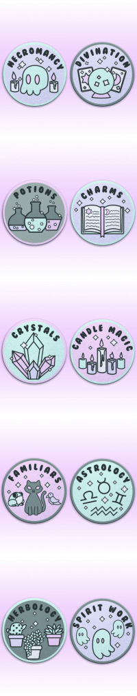 Tumblr, Blog, and Http: OMAN   RMS  o O  O o   STAL   W o  ER B shelbywolf: ✨🔮The Witch Merit Badges Kickstarter is Now Live! ✨🔮  The first two are already unlocked!  Go here: https://www.kickstarter.com/projects/1240654799/witch-merit-badges