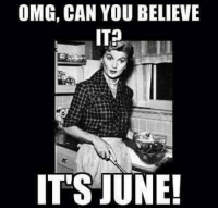 Memes, Omg, and 🤖: OMG, CAN YOU BELIEVE  IT'S JUNE You May be very Cleaver, but don't July to me. #UnKNOWN_PUNster