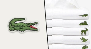 omg-humor:Lacoste is replacing their crocodile with endangered species for awareness: omg-humor:Lacoste is replacing their crocodile with endangered species for awareness