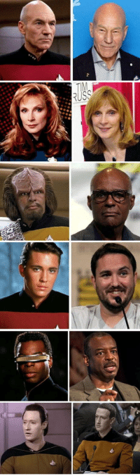 Omg, Tumblr, and Blog: omg-humor:Trek wars then and now