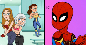 Omg, Spider, and SpiderMan: omg-images:Why Spider-Man Needed A New Suit For Infinity War