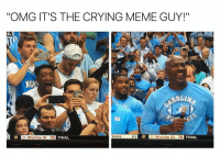 "Crying, Meme, and Omg: ""OMG IT'S THE CRYING MEME GUY!""  ND  ROLIN  State  63  21 Wichita St 78  FINAL  3  21 Wichita St 78 https://t.co/l2nXOmyYsI"