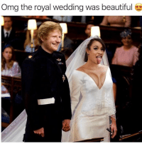 So happy for them: Omg the royal wedding was beautiful So happy for them