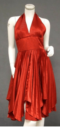 omgthatdress:  1950s William Travilla dress via Vintageous  It kind of reminded me of my prom dress! 3: omgthatdress:  1950s William Travilla dress via Vintageous  It kind of reminded me of my prom dress! 3