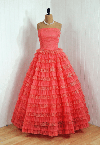 omgthatdress:  prom dress 1950s Timeless Vixen Vintage  : omgthatdress:  prom dress 1950s Timeless Vixen Vintage