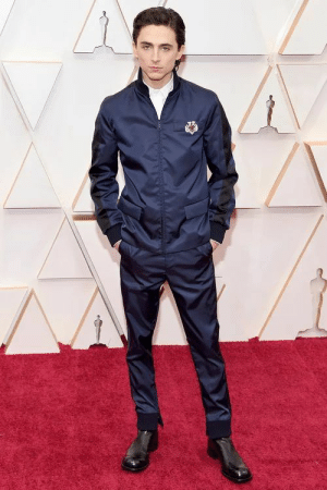 omgthatdress: Timothee Chalamet looks like an EMS on a super-luxury ambulance where billionaires can sip champagne and nibble cheese and fresh fruit on their way to the hospital. The fact that he gets called a fashion icon is the embodiment of White privilege. : omgthatdress: Timothee Chalamet looks like an EMS on a super-luxury ambulance where billionaires can sip champagne and nibble cheese and fresh fruit on their way to the hospital. The fact that he gets called a fashion icon is the embodiment of White privilege.