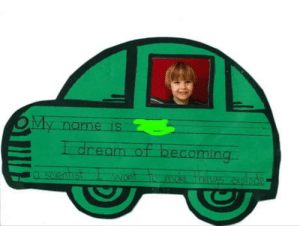 You will, son. You will.: OMy  Idream of becoming  name is  CLESCTe.atiust  make thines explode You will, son. You will.
