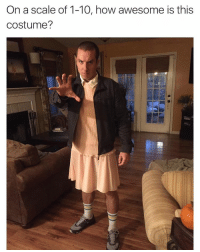 Funny, Good, and How: On a scale of 1-10, how awesome is this  costume? Damn this is good strangerthings