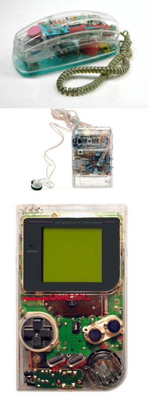 Target, Tumblr, and Blog: ON   DOT MATRIX WIT stuckinmyplaypretend:I miss the clear electronics trend