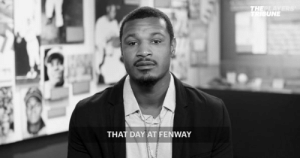 On May 1, 2017, @SimplyAJ10 was the target of racist remarks while playing at Fenway Park.  A few days later, he talked about the incident. https://t.co/wTryYmJw4d: On May 1, 2017, @SimplyAJ10 was the target of racist remarks while playing at Fenway Park.  A few days later, he talked about the incident. https://t.co/wTryYmJw4d